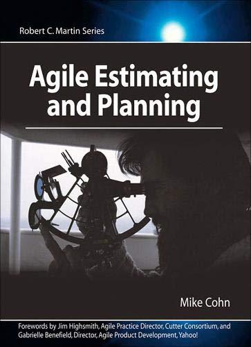 Agile Estimating and Planning Robert C. Martin Series: Amazon ...