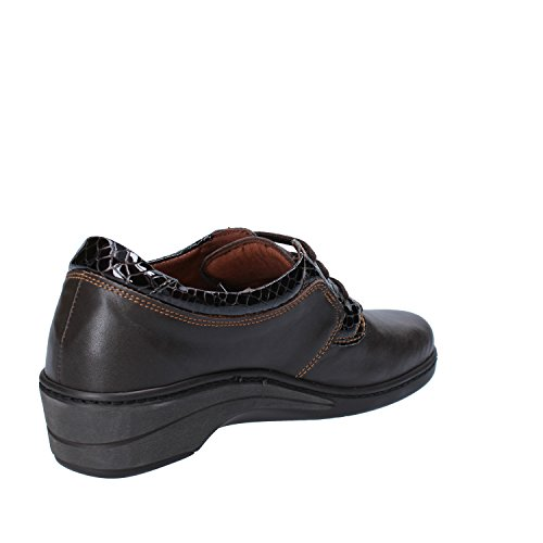 SUSIMODA Sneakers Donna 37 EU Marrone Pelle Vernice