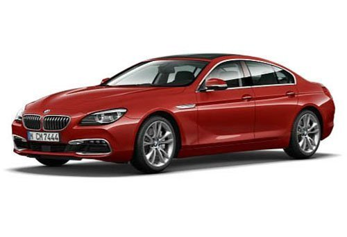 BMW 650i Gran Coupe 6 Series F06 Melbourne Red 1/18 by Paragon 97033