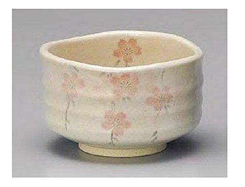 Yamakiikai Japanese tea cup Light Brown Cherryblossom From Japan G1766
