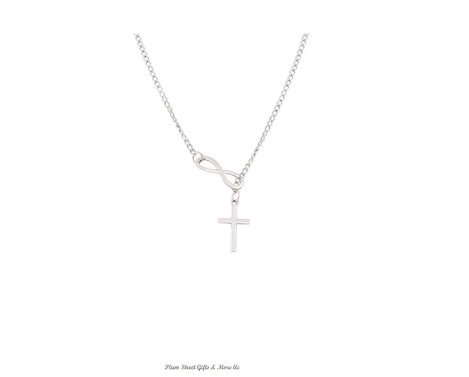 Amazon stylish infinity cross pendant necklace jewelry aloadofball Images