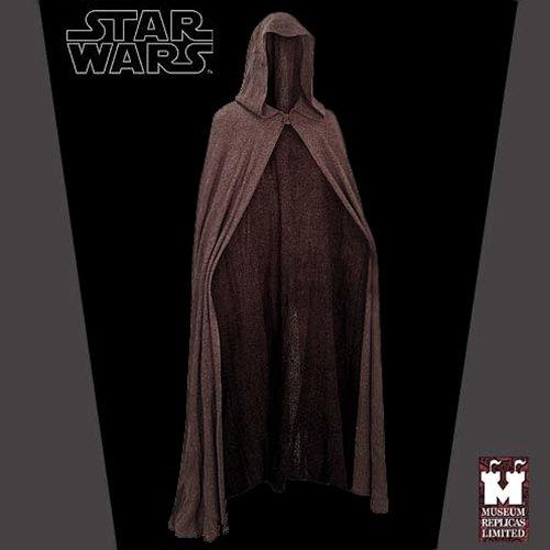Star Wars Luke Skywalker Jedi Cape Robe Cloak Costume