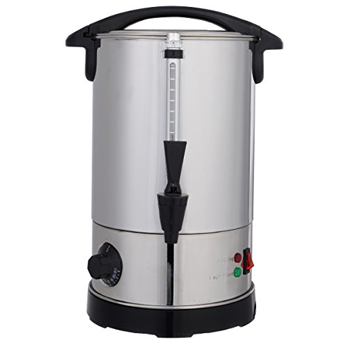 6L Glühweinkessel Glühweinkocher Glühweinautomat Heißgetränkeautomat Heißwasserkessel Wasserkocher Teekocher Glühweintopf Thermostat