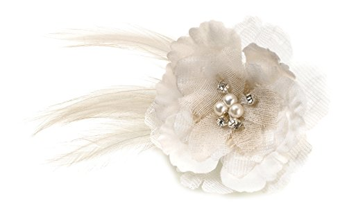 Lillian Rose Rustic Flower Wedding Hair Clip Accessories