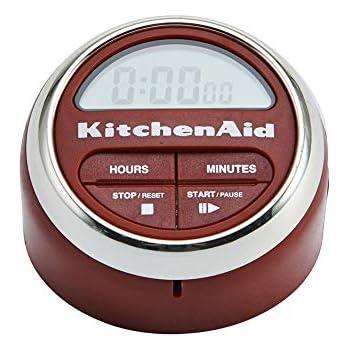 KitchenAid Digital Kitchen Timer, Red - KC150OHERA