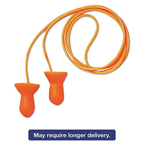 Ear Plugs, 26dB, Corded, Med, PK100 QD30 by Honeywell
