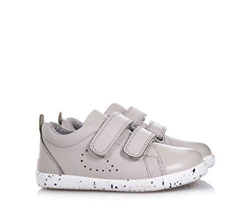Bobux Unisex-Kinder IW Grass Court Trainer Sneaker Grau (Grey)