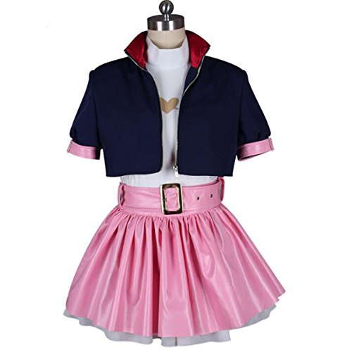 Poetic Walk Hot RWBY Nora Valkyrie Cosplay Carnaval Costume Halloween Outfit (Medium, A Set)]()