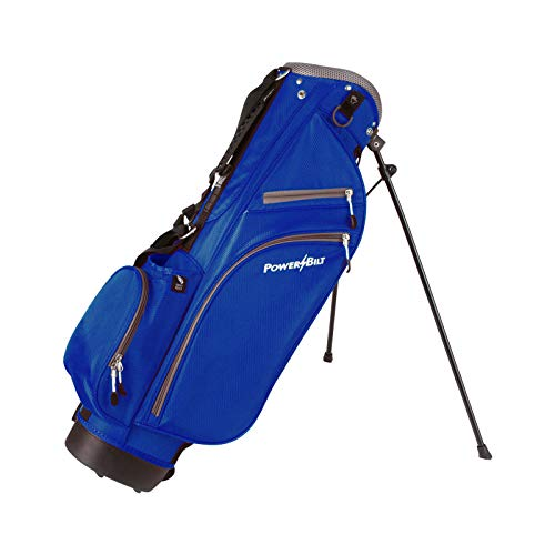 PowerBilt Junior Stand Bag (Ages 5-8), Blue