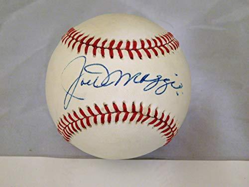 - Joe DiMaggio Signed/Autographed Official American League Lee MacPhail Baseball JSA LOA