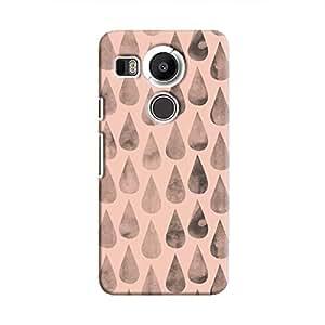 Cover It Up - Pink Dark Drops Nexus 5X Hard case