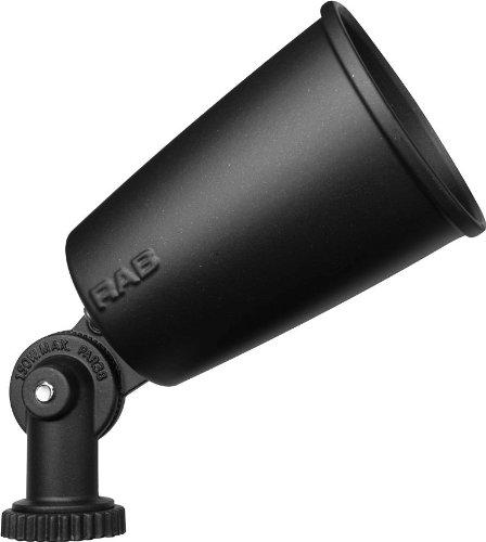 150 Watts Incandescent Par Holder - RAB R90B Flood Economy 150W Par38 Max, Black Color