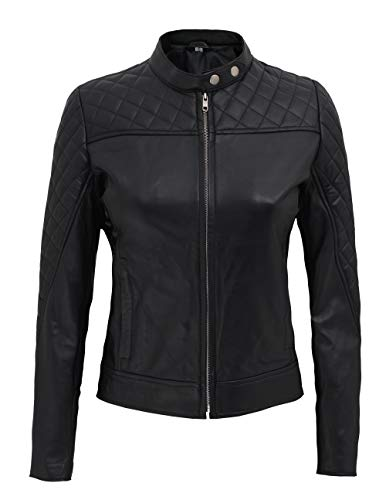 Leather Jacket Womens - Real Lambskin Womens Leather Jacket