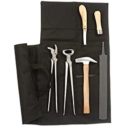Tough-1 Professional 7 Piece Farrier Kit with Bag