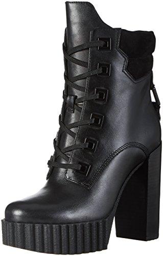 Kendall En Kylie Damen Kkcoty Biker Boots Schwarz (zwart Met Meerdere (koninklijke Mat) Leer)
