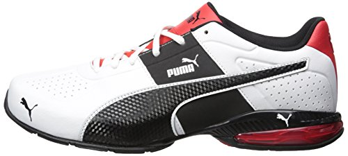 12c5aea80e PUMA Men's Cell Surin 2 Fm Cross-Trainer Shoe, Puma White/Puma Black ...