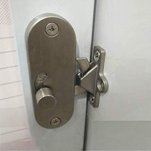 Sliding Door Lock 90 Degree Moving Door Right Angle Buckle Privacy Lock, Sliding barn Door Lock and Latch Bolt Lock cam…