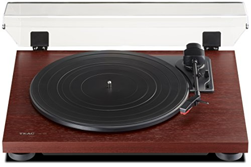 Teac TN100CH 3 Speed Analog Turntable – Cherry Finish
