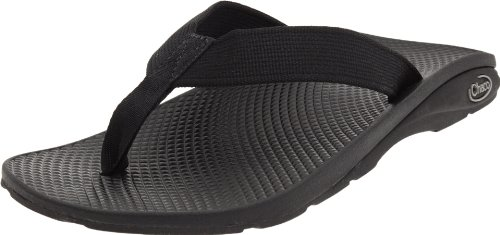 Chaco Men's Flip EcoTread Sandal,Black,9 M US