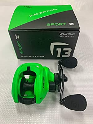 13 Fishing Inception SZ Baitcasting Reel Right Hand 7.3:1
