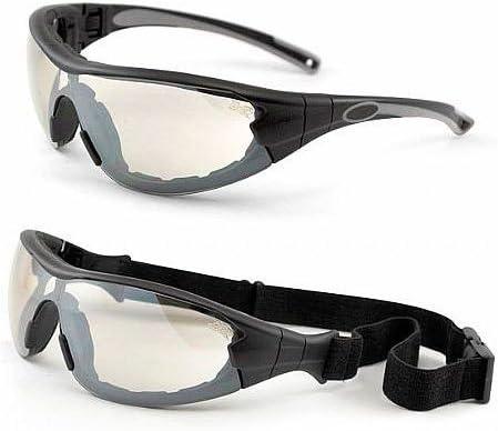 e9f30341e9267 Oculos PROTEÇÃO Delta Militar Tiro Airsoft Teste Balistico C.A (ESPELHADO  (IN-OUT))