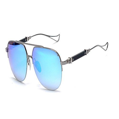 de sol anti de gafas gafas Shop de color pistola azul sapo metal de 6 Gafas sol Gafas sol UV de de WZ1qvW7PS