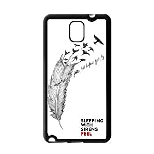 Danny Store Sleeping with Sirens Protective Gel Rubber Back Fits Cover Case for SamSung Galaxy Note 3