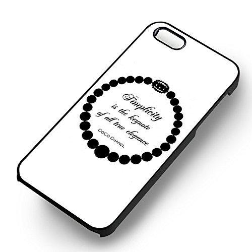 Simplicity Quote pour Coque Iphone 6 et Coque Iphone 6s Case (Noir Boîtier en plastique dur) P5K5KO