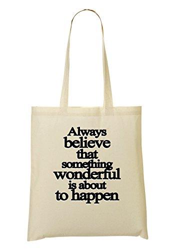 To Happen Something Series La Compra Bolsa De Wonderful Believe Is De Bolso About Mano IwqgtnqXr