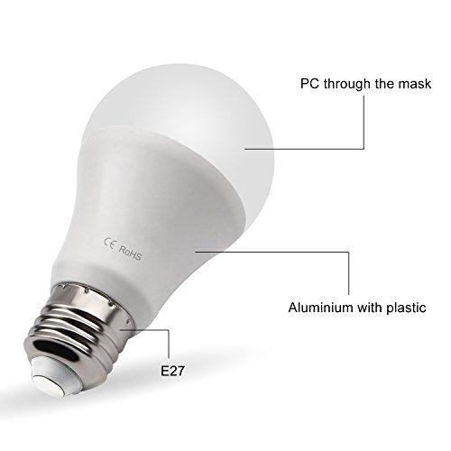 Dusk To Dawn Porch Light Bulb: Dusk To Dawn LED Bulbs , 7W E26/E27 Sensor Light Bulb