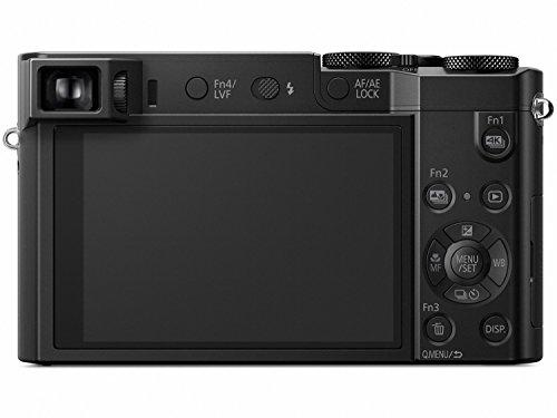 PANASONIC LUMIX ZS100 4K Point and Shoot Camera, 10X LEICA DC Vario-ELMARIT F2.8-5.9 Lens with Hybrid O.I.S., 20.1 Megapixels, 1 Inch High Sensitivity Sensor, 3 Inch LCD, DMC-ZS100K (USA BLACK)