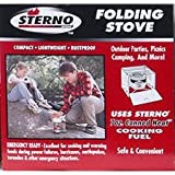 Sterno Single Burner Folding Stove – 50002, Outdoor Stuffs