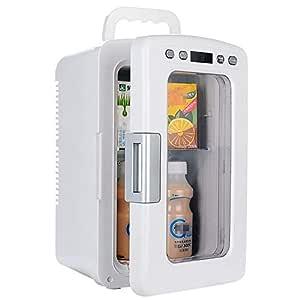 Mini refrigerador refrigerador y calentador Refrigerador eléctrico ...
