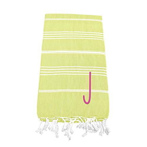 Cathy's Concepts Personalized Turkish Towel, Pistachio Gr...