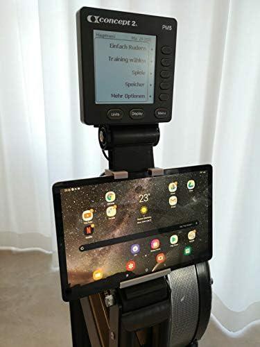 Generisch Concept2 Model C & Model D Tablet/Handy/Telefon Halterung bis 11 Zoll Bildschirmdiagonale