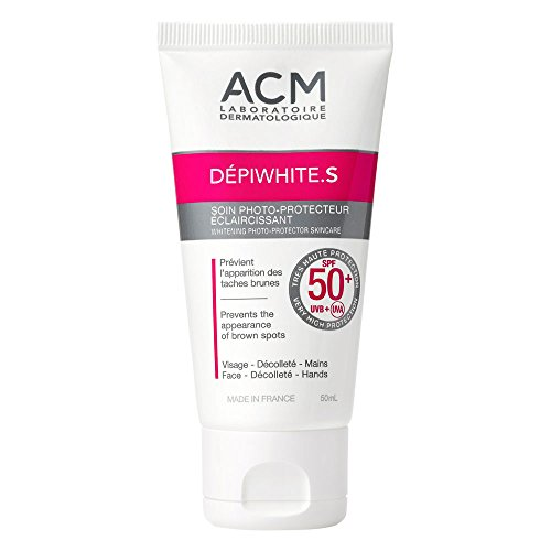 ACM Labo DEPIWHITE S SPF50+ WHITENING PHOTOPROTECTOR LIGHTENING SKINCARE 50ml