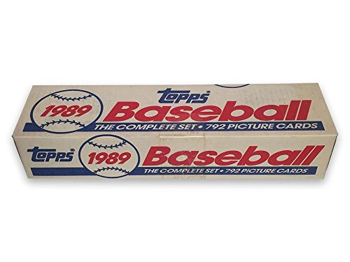1989 Topps Complete Set (MLB - Baseball - 792 Cards - Ran...
