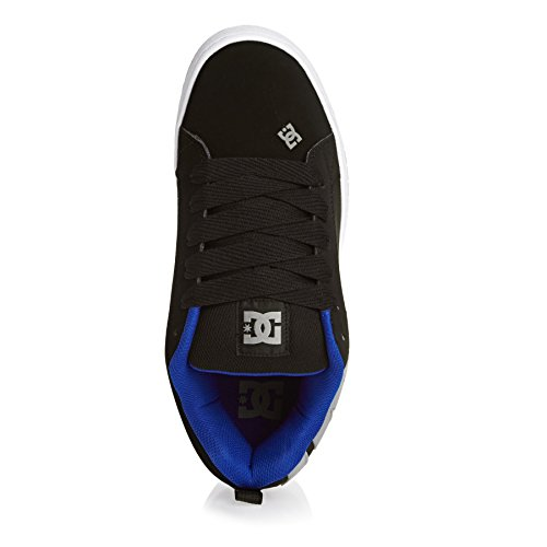 Dc Chaussures Baskets Cour Graffik Noir De La top Bas Hommes ZwrH4Zq