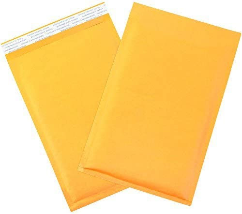 BOX USA BB854SS Self-Seal Bubble Mailers #1 7 1/4 x 12 Kraft (Pack of 100) [並行輸入品]