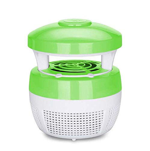 Electronic Mosquito Lamp Mosquito Dispeller Mosquito Insect Killer Out The Rope Led Mushroom Electric Mosquito Swatter Light Outside, BOSS LV, Green