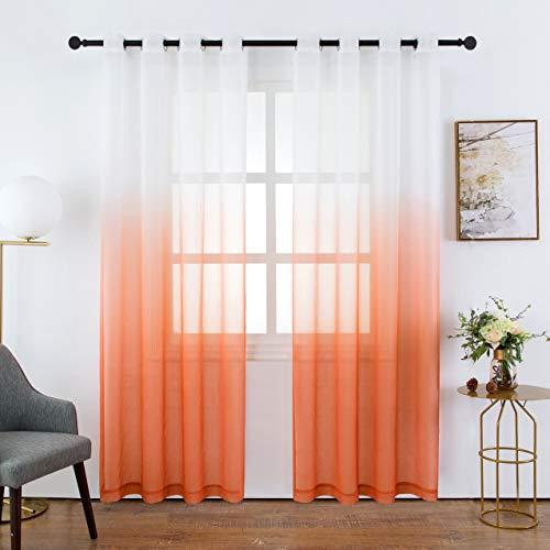 Bermino Curtains Grommet Bedroom Gradient product image