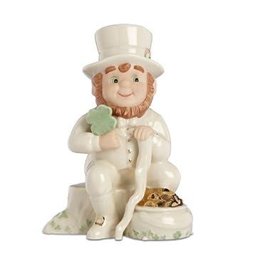 Lenox Irish Leprechaun St Patrick s Day Fine Porcelain Collectible Figurine – 5.2