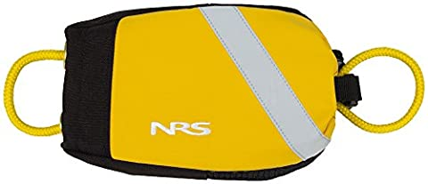 NRS Wedge Rescue Throw Bag Yellow 55' - Throw Rope Bag