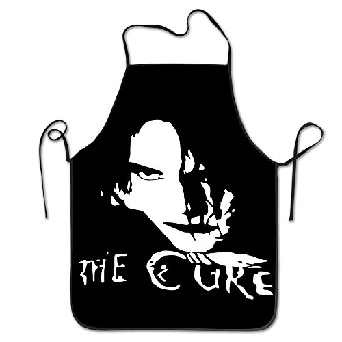 The Cure Rock Band Apron Chef Kitchen Cooking Apron Bib Cure Aprons