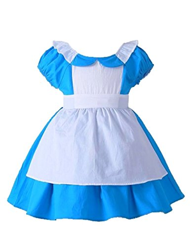 Sequin Alley Alice in Wonderland Toddler Baby Girls Costume Birthday Outfit 2T-6