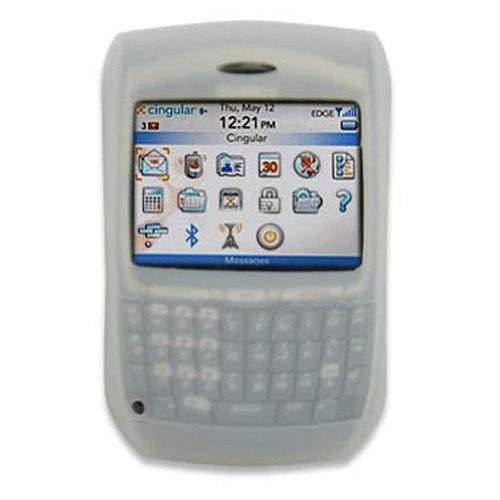 Mobile-Protector Silicone Case (white) for BLACKBERRY 8700g, 8700c, 8700r, 8700v