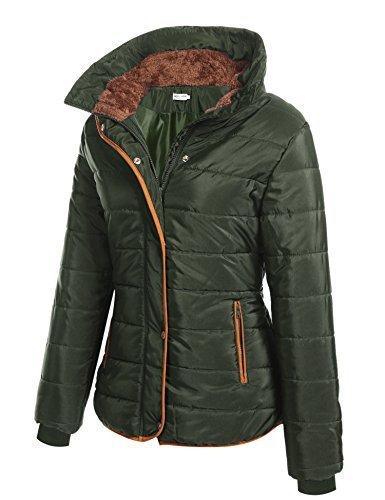 Femme S HOTOUCH Chaude Manteau Matelass Manches avec Capuche Hiver Longues Vert XL Rqqw6z
