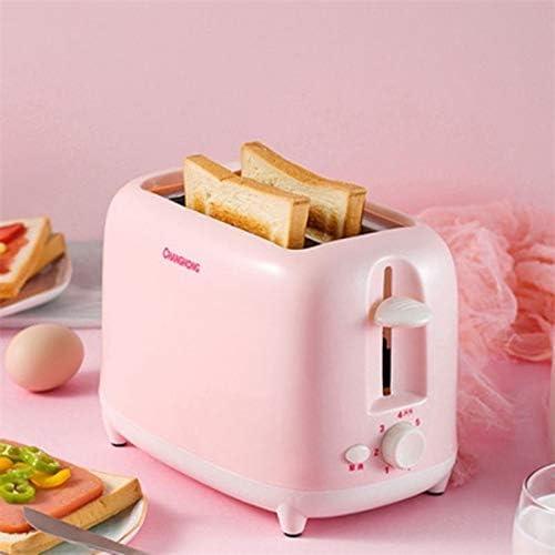 LACP Machine à Pain avec Fonction Sandwich for Tranche de miettes Amovible (Rose)
