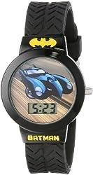 Batman Kids' BAT5022 Digital Display Quartz Black Watch