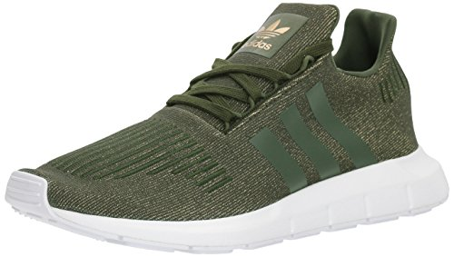 Adidas Women's Swift W Running-Shoes,Night Cargo/Night Cargo/White,7.5 M US